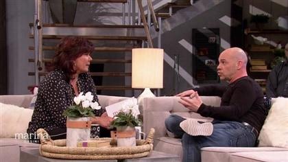 Marina Orsini s'entretient avec l'humoriste Maxim Martin