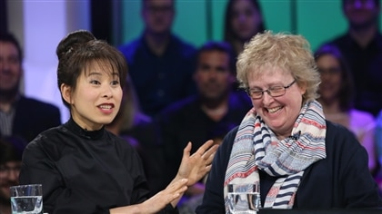 Kim Thúy et Brigitte Harrisson
