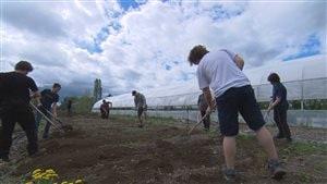 Les jeunes de l'École secondaire de Cabano s'occupent eux-même de toutes les étapes de production.