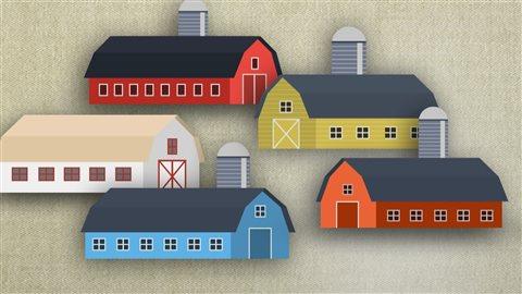Le Canada comptait beaucoup plus de fermes lorsqu'on y exerçait une agriculture de subsistance.
