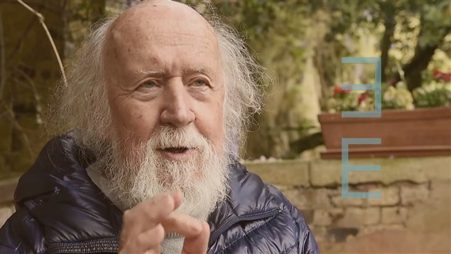 L'astrophysicien Hubert Reeves à l'émission Second regard
