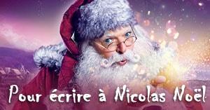 Écrire à Nicolas Noël