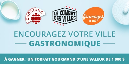 Fromages d'ici concours