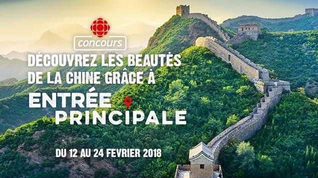 Concours voyage Chine