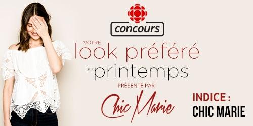 Concours Votre look préféré du printemps Indice : chic Marie