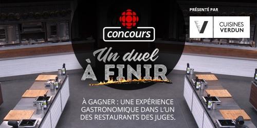 Concours Cuisines verdun - du 16 avril au 11 juin - à gagner : une expérience gastronomique dans l'un des restaurants des juges.