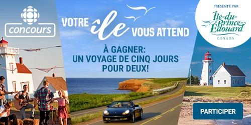 Participez au concours Votre Île vous attend (présenté par Tourisme Île-du-Prince-Edouard) - À gagner : un voyage de cinq jours pour deux personnes