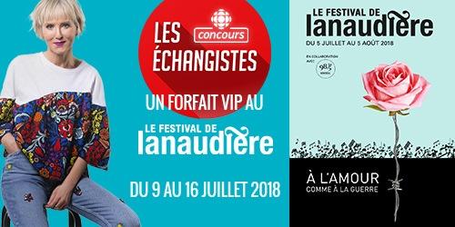 Concours Le festival de Lanaudière